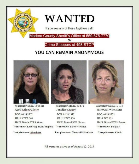 Madera County's Most Wanted | Chowchilla